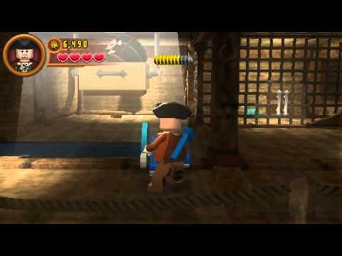 Lego Pirates of the Caribbean PSP Part 14 [On Stranger Tides] |