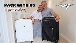 PACK WITH US FOR OUR HOLIDAY!
