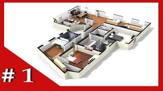 حول رسمة بيتك 3D وافرشه بكامل الاثاث مع هذا البرنامج الرائع (1)