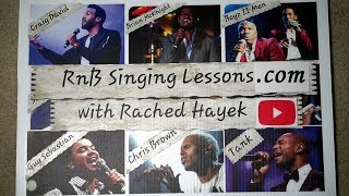 RnB Singing Lessons Channel Trailer