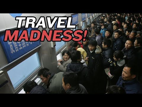 Chinese New Year Travel Madness Strikes Again This Year of the Pig | China Uncensored