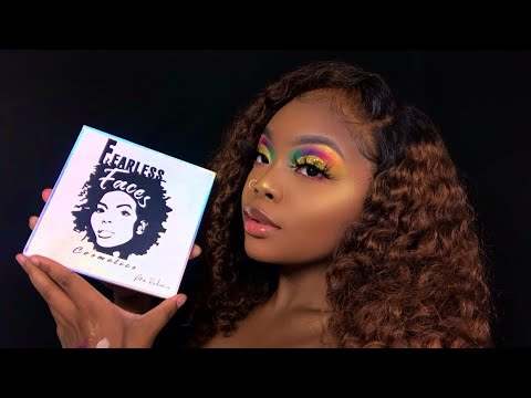 BEST COLORFUL PALETTE | Multi Colored Glitter Cut Crease | Made Up by Kirsten thumbnail