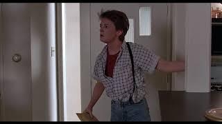Финальная сцена ... отрывок из фильма (Назад в будущее/Back to the Future)1985