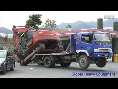 [MUST WATCH] The Most Amazing Construction Equipment Loading And Unloading Compilation Part 1