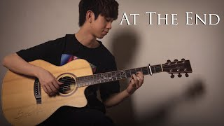 Gambar cover (Chung Ha 청하) At The End 그 끝에 그대 (Hotel Del Luna OST) - Fingerstyle Guitar Cover