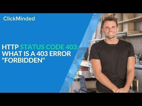 "HTTP Status Code 403: What Is a 403 Error ""Forbidden"" Response Code? Mp3"