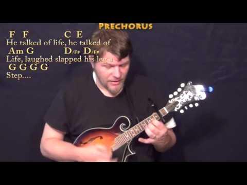 Mr Bojangles (Jerry Jeff Walker) Mandolin Cover Lesson with Chords/Lyrics - Capo 2nd Fret