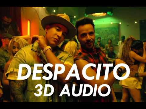 3D AUDIO Despacito USE HEADPHONES!!! Download Audio!!
