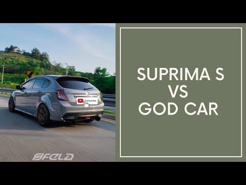 PROTON SUPRIMA S Vs PROTON SUPRIMA S Vs GOD CAR !!!