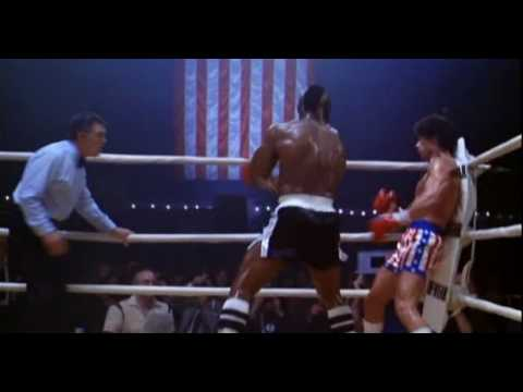 "Rocky 3. Rocky Balboa Vs Clubber Lang....""You Aint Nothing""....  Final Fight  Scene from Rocky III ."
