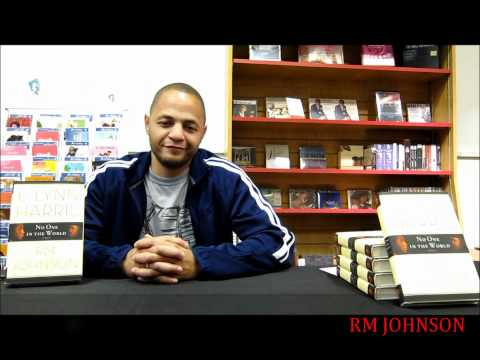 Celebrity Author RM Johnson Advice for Writers