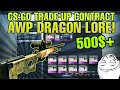 CS:GO Ez trade-up - How to get an AWP Dragon Lore FN (500$+)