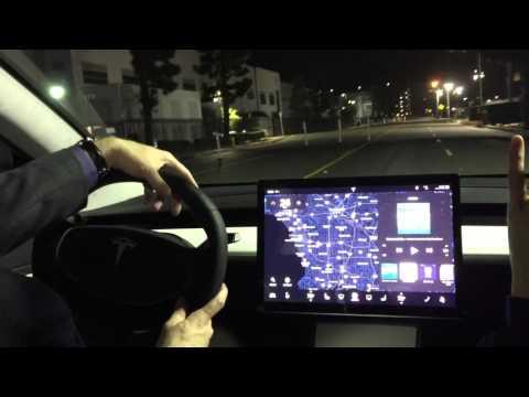 Tesla Model 3 First Ride