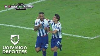 ¡Gol de Herrera! Le empató Pachuca al Atlas