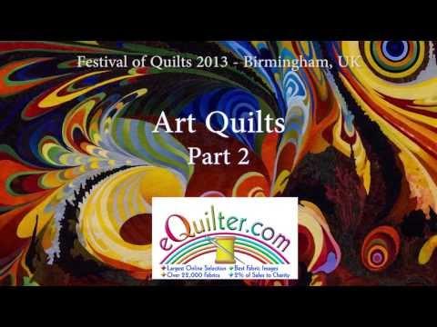 Festival of Quilts 2013 - Birmingham UK - Art Quilts - Part 2