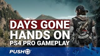 Days Gone Ps4 Hands On: Should You Be Excited?   Playstation 4   Ps4 Pro Gameplay Footage