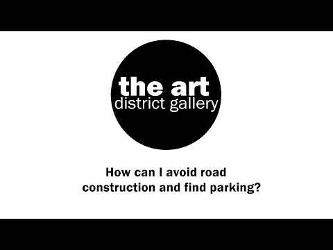 Parking at the Art District Gallery