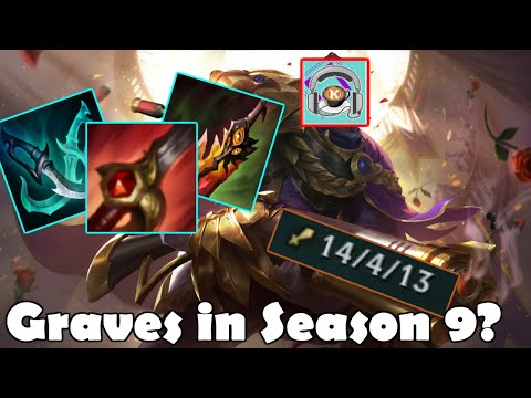League of Legends - Do People Still Play Graves in Season 9? (Funny Moments)