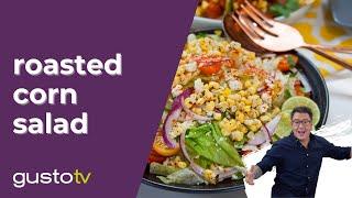 Spencer Makes Roasted Corn Salad For Taco Night  Spencer&#39s BIG 30