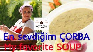 Yeşil Mercimek Çorbası Tarifi - Semen Öner - Yemek Tarifleri