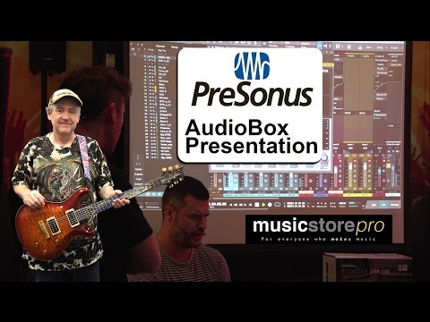 Presonus AudioBox Recording Setup with Studio One Demonstration - tonymckenziecom