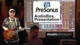 Presonus AudioBox Recording Setup with Studio One Demonstration - tonymckenziecom