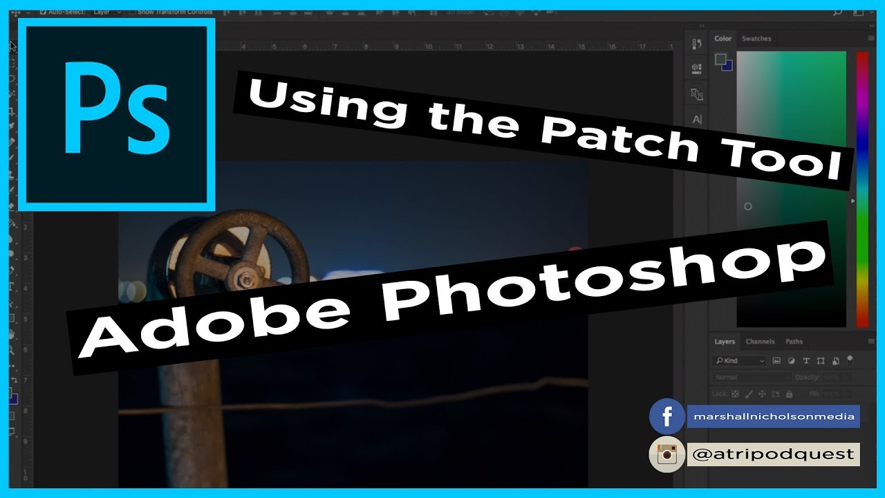 how to use the patch tool