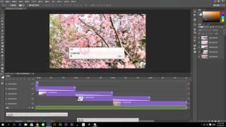 photoshop cc 2015 教學 11-4《時間軸》視訊時間軸 匯出視訊