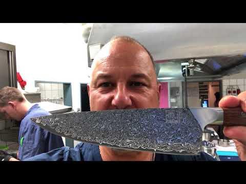 "ZAYIKO   Frank Rosins Chefmesser ""Special Edition""   Prachtstück"