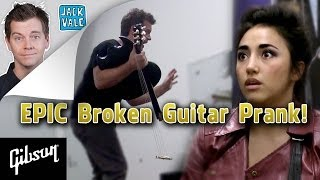 EPIC Broken Guitar Prank (Ft. Alex G and Tyler Ward)