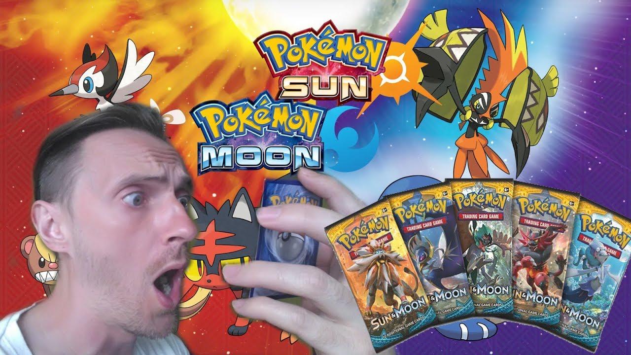 Wow Taka Karta W Pierwszym Unboxingu Pokemon Sun And Moon Pack