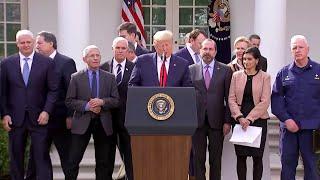 President Donald Trump declares national emergency amid coronavirus outbreak
