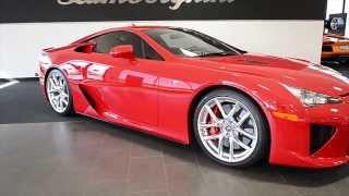 2012 Lexus LFA Absolutely Red LC276