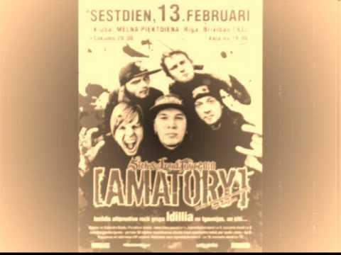 Amatory @ Riga. Radio Jingle SWH Rock 13.02