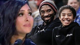 Kobe Bryant Memorial - Vanessa Bryant & Michael Jordan Cry During Emotional Speech