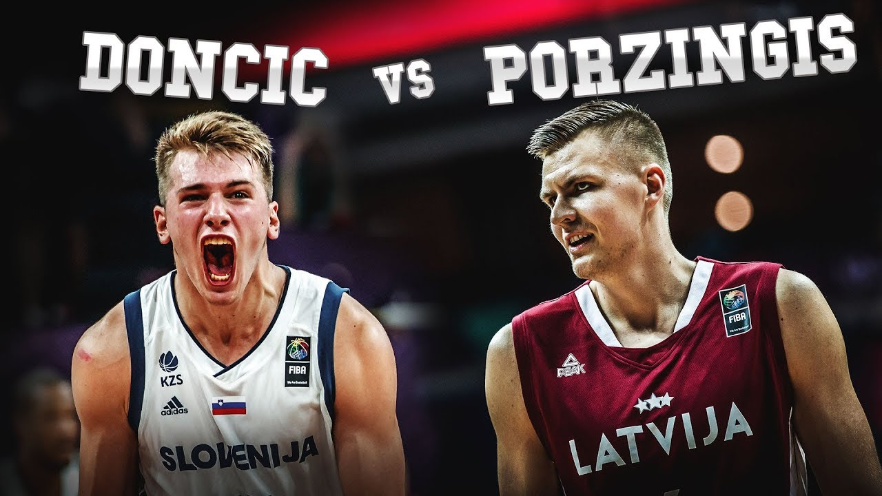 Luka Doncic and Kristaps Porzingis going CRAZY at EuroBasket!