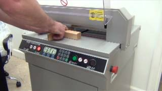 450VS Digitally Controlled Electric Paper Cutter