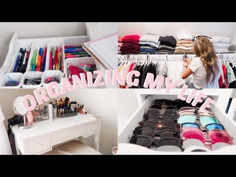 ORGANIZING MY LIFE | DECLUTTERING, CLEANING & MORE!