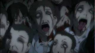 High School of the Dead AMV 1080p - Powerman 5000 - When Worlds Collide