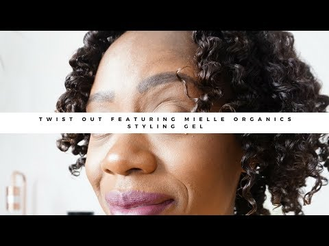 Twist Out Featuring Mielle Organics Styling Gel