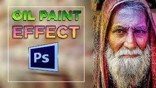 How to Get Oil Painting Effect on Photoshop CC | Photoshop Guru Sazzad
