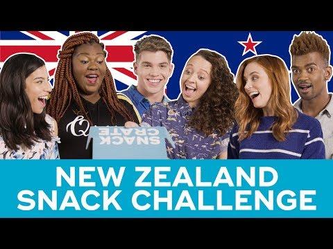 New Zealand Snack Challenge - SnackCrate