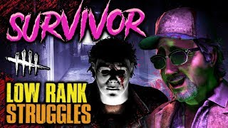 SURVIVOR: Low Rank Struggles [#183] Dead by Daylight with HybridPanda