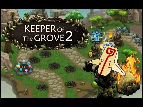 Keeper of the Grove 2 Walkthrough 100% HARD Difficulty 65/65 diamonds levels 1 - 8 Part 1/2