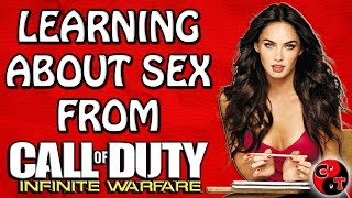 LEARNING ABOUT SEX FROM INFINITE WARFARE BETA (Disgusting & Funny Moments)
