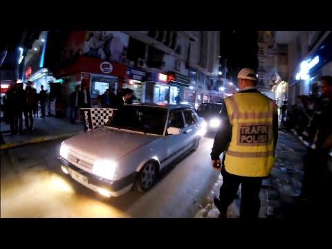 TOFAŞ VAREX & PEUGEOT 106 gti - POLİS DENETİMİ! (Abi Egzoz Patlamış)