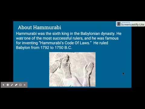 Social Studies Babylonian Empire