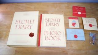 아이즈원 시크릿 다이어리 포토북 언박싱 IZ*ONE SECRET DIARY PHOTOBOOK Unboxing
