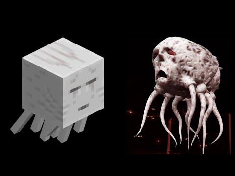 Minecraft Mobs In Real Life