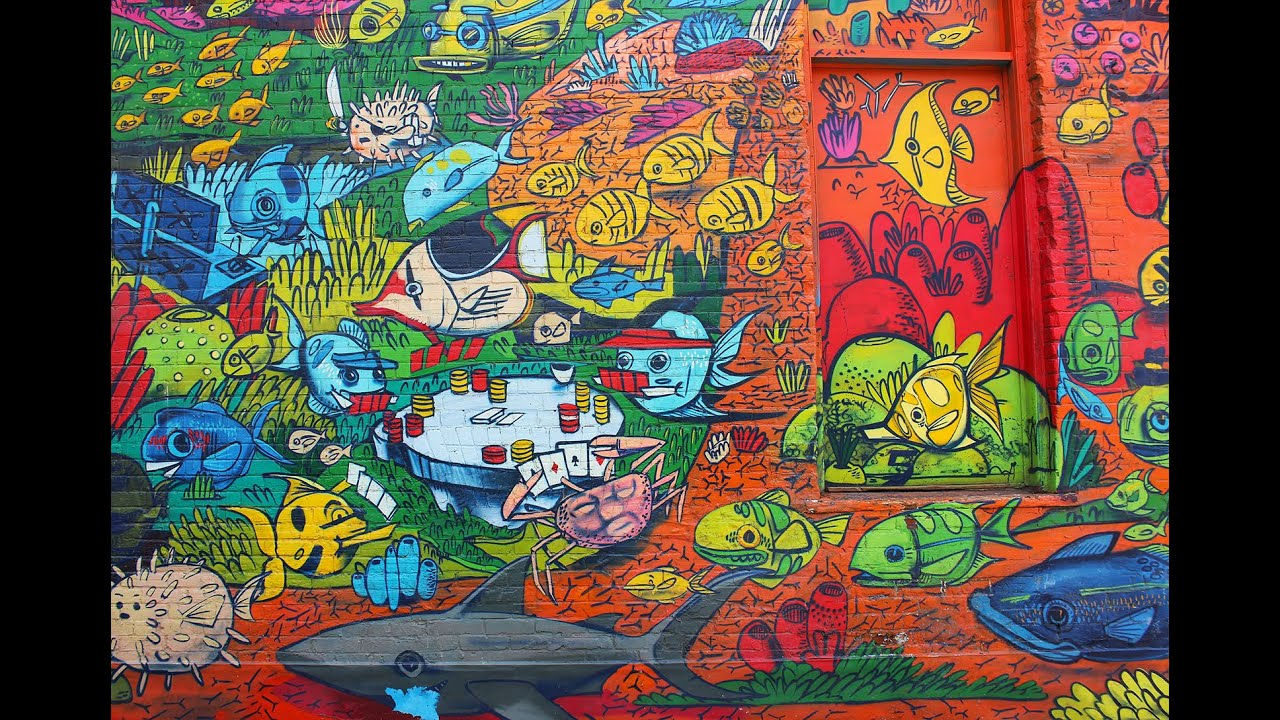 Graffiti tour toronto street art and graffiti alley